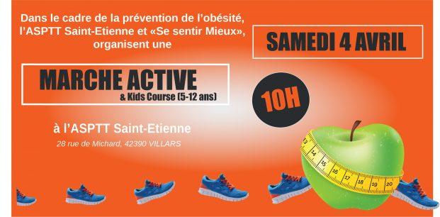 Marche active prévention de l'obésité